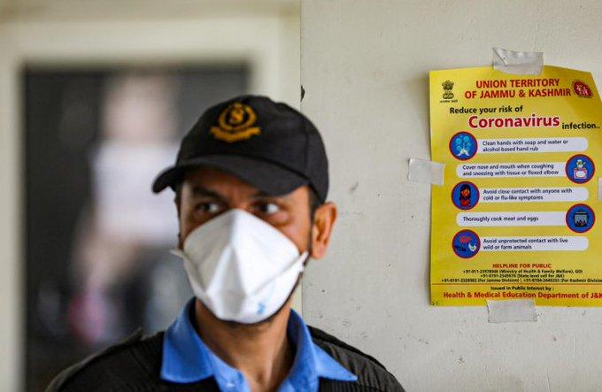 जम्मू-कश्मीर च पिच्छले 24 घैंटे दरान नोवल कोरोना वायरस दे 235 नमें मामले सामने आए