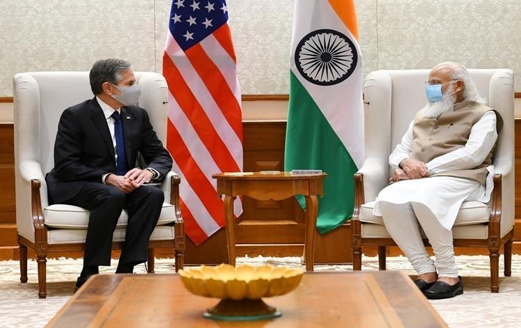 અમેરિકાએ ભારતના કોવિડ રસીકરણ કાર્યક્રમને મદદરૂપ થવા વધુ અઢી કરોડ અમેરિકન ડોલરની સહાય આપવાની જાહેરાત
