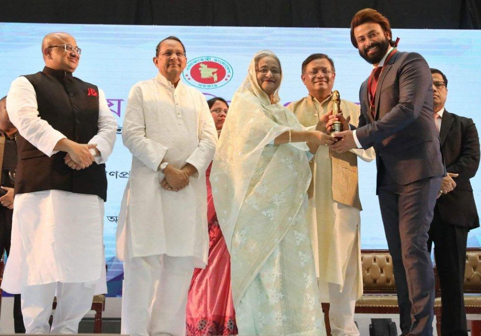 Bangladesh National Film Awards 2017 & 2018 presented in Dhaka