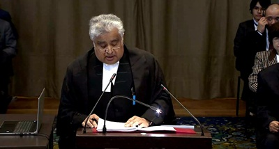 Kulbhushan sentenced to death on basis of extracted confession: India at ICJ