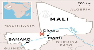 At least 21 soldiers killed in terrorist attack on army camp in Mali