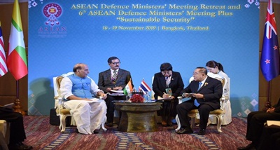 6th ASEAN Defence Ministers' Meeting-Plus to be held in Bangkok today