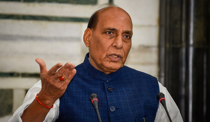 Defence Minister Rajnath Singh expresses his pain over missing submarine 'Nanggala' and its crew members to Indonesian counterpart