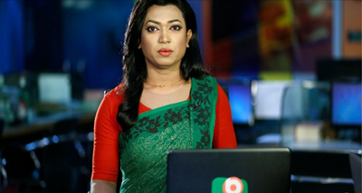 Bangladesh's first transgender newsreader appointed