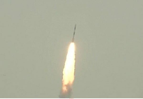 ISRO launches navigation satellite IRNSS-1L from Sriharikota