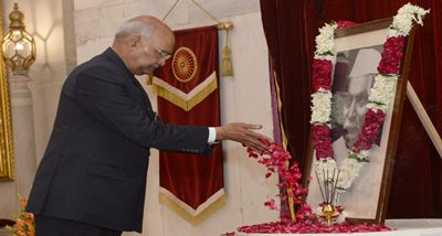 Prez Kovind, PM Modi pay homage to Dr Rajendra Prasad