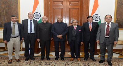 Fifteenth Finance Commission submits report to President