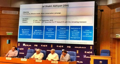 Govt launches Jal Shakti Abhiyan to create awareness on water conservation