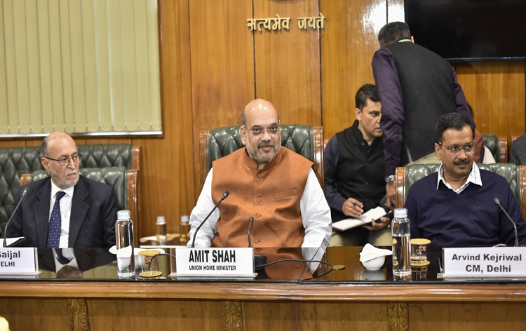 HM Amit Shah says adequate forces have been deployed in affected areas of Delhi, situation under control