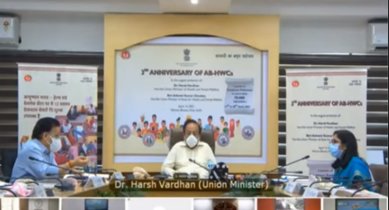 Health Minister Dr Harsh Vardhan launches Aahaar Kranti mission to spread awareness about nutrition