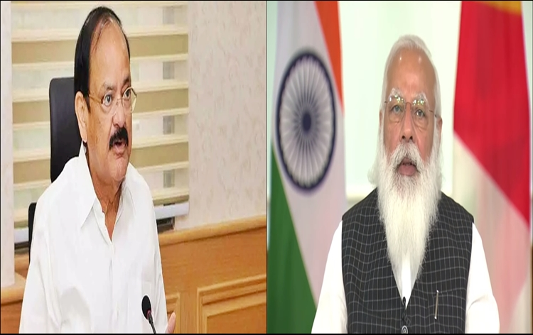 VP M Venkaiah Naidu and PM Modi interact with Governors and LGs on COVID-19 situation in country