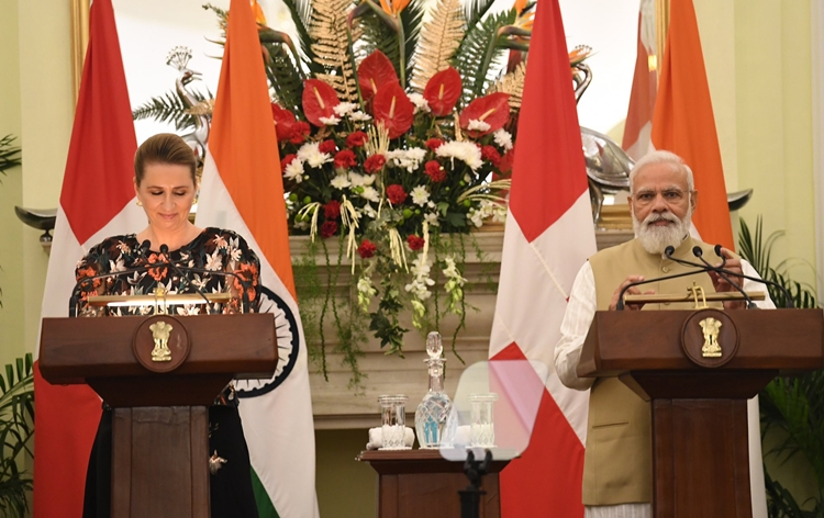 PM Modi holds bilateral talks with his Danish counterpart; two countries  sign four agreements