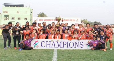 India clinch SAFF Women's C'ship for fifth time