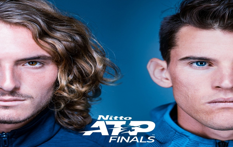 First-time finalists Dominic Thiem, Stefanos Tsitsipas to meet in ATP Men's summit clash