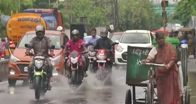 Incessant rain leads to suspension of road traffic in parts of Tamil Nadu