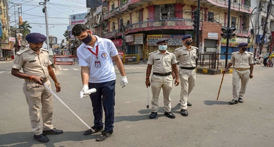 Complete lockdown imposed on ten districts of Bihar amid spike in Covid-19 cases