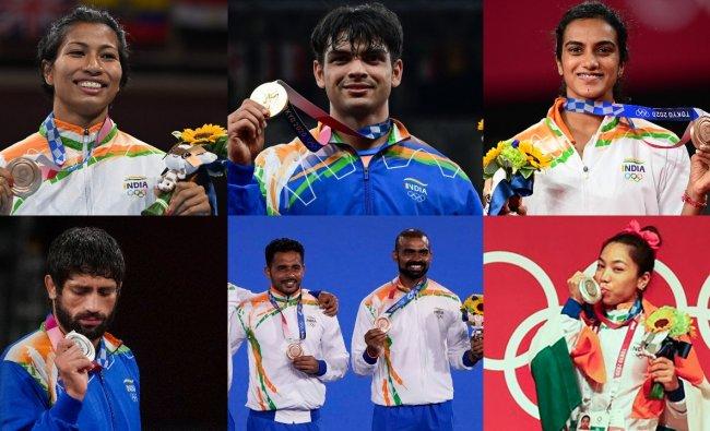 Uttar Pradesh government felicitates Tokyo Olympics medal winners — IND  Forums