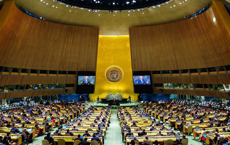 اقوام متحدہ جنرل اسمبلی کا 76 واں اجلاس کَل رات نیویارک میں شروع